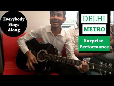 In Delhi Metro - A Musical Ride