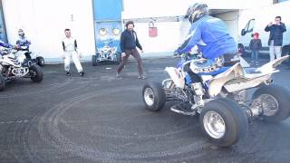 QUAD YAMAHA RAPTOR 700  AMAZING DRIFT ATV
