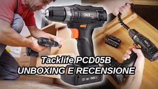 Unboxing e Recensione Tacklife PCD05B Trapano Avvitatore