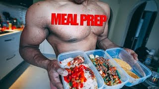 Meal Prep 2,000 Calories In 20 MINUTES!