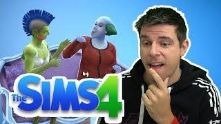 Sims 4 - for første gang!