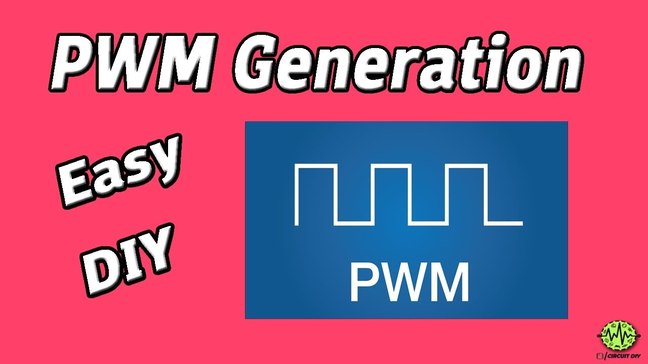 Pulse Width Modulation Circuit Diagram | How To Generate Pwm Pulse Width Modulation Circuit Using 555 Timer