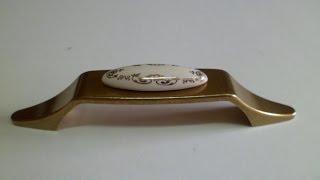 Ручка скоба керамика для кухни UP18 0096 G00AB MLK3 Gamet