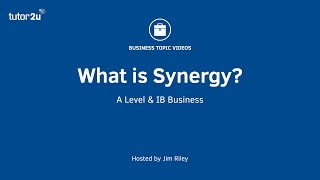 Business Growth Strategy - Synergy
