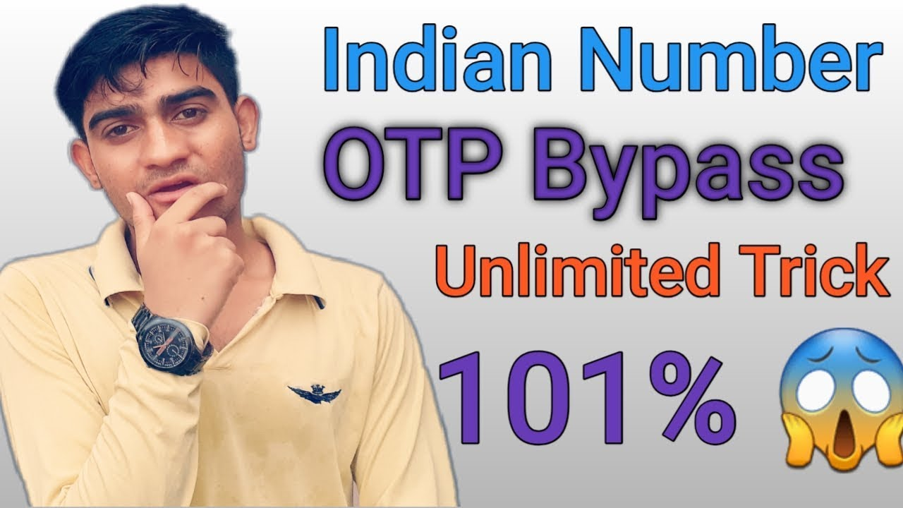 101%😱 work Unlimited Indian Number Otp Bypass Loot Trick