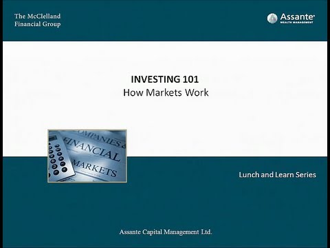 The McClelland Financial Group - Investing 101 - How the mar