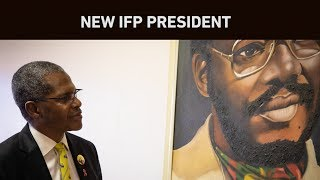 Velenkosini Hlabisa is the new leader of the IFP. This comes after Mangosuthu Buthelezi stepped down from his position and the party went to its general conference between 23 and 25 August 2019.