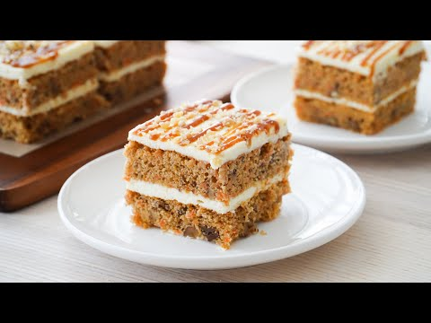 Soft And Moist Carrot Cake Recipe for Easter