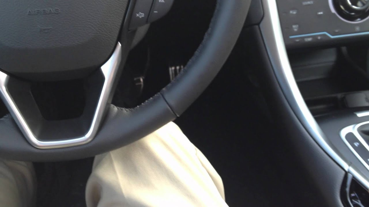 2013 Ford Fusion Push Button Parking Brake Youtube