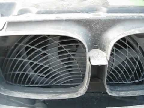 BMW E39 проверяем работу электро вентилятора