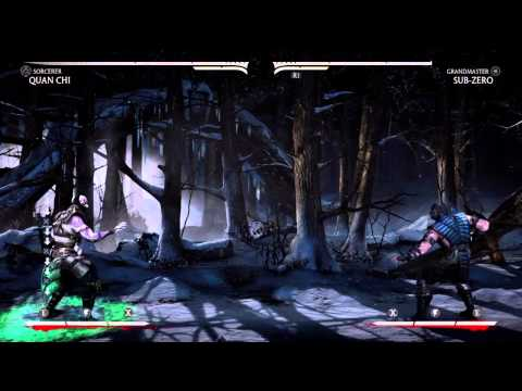 Quan Chi double spell
