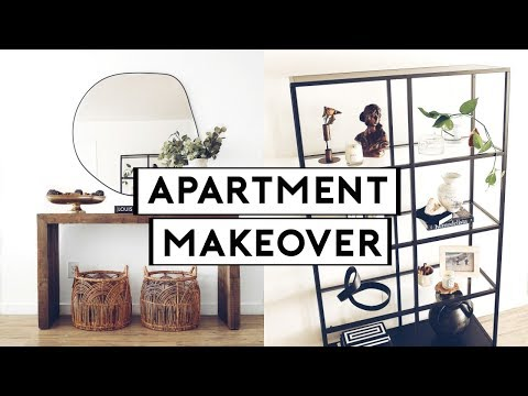 EXTREME APARTMENT MAKEOVER! STYLING + INTERIOR DESIGN TIPS | Nastazsa