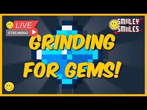 Bit heroes live stream: Grinding for Gems in Dungeon 4! How many can we get?