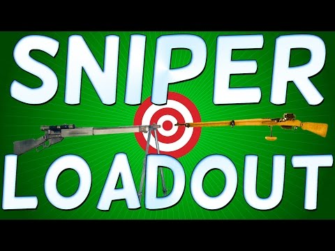 Battlefield 1 SNIPER LOADOUT - THE BEST GADGETS AND GUNS FOR YOUR SCOUT CLASS Part 1