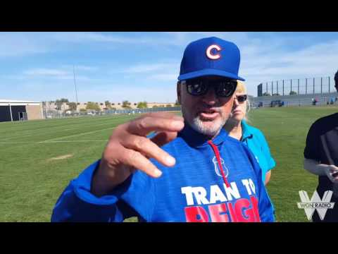 Cubs manager Joe Maddon on Jake Arrieta's workout schedule