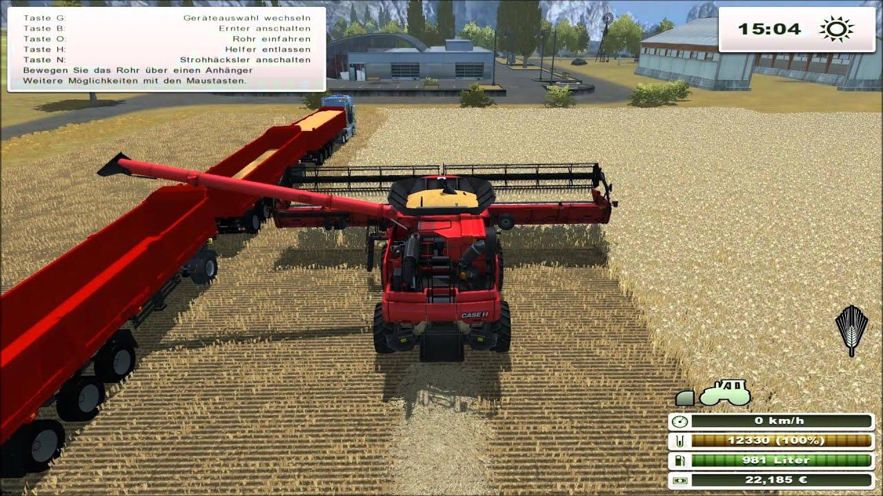 ls13 landwirtschafts simulator 2013 titanium edition dreschen mit dem case ih axial flow. Black Bedroom Furniture Sets. Home Design Ideas