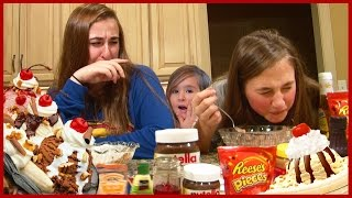 Ice Cream Sundae Challenge By Girls - Kids Family Reality Fun