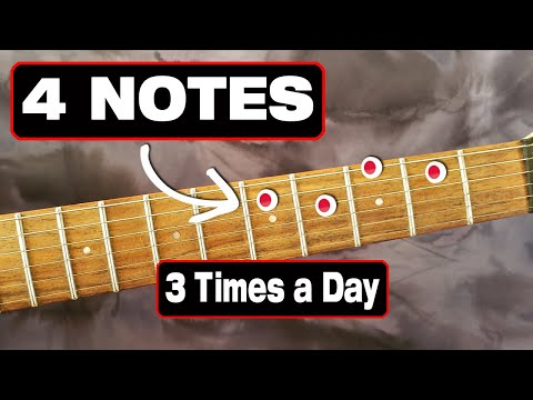 Play These 4 Notes 3 Times a Day (THIS CHANGES EVERYTHING!)