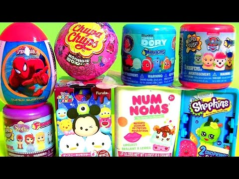 Finding Dory MASHEMS, Sofia The First FASHEMS, NUM NOMS, Paw Patrol MASHEMS, Peppa Pig Chupa Chups