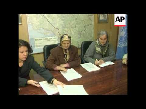 BOSNIA: SARAJEVO: UN REPORT - 1995 FALL OF SCREBRENICA