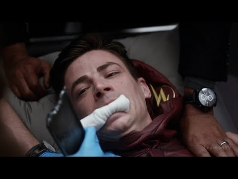 Кейтлин вытаскивает Осколок Савитара из Барри | Флэш (3 сезон 15 серия)