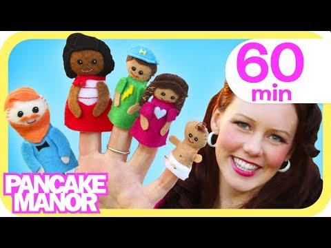 Finger Family + More Songs For Kids | Pancake Manor