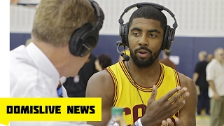 Kyrie Irving Believes 'The Earth Is Flat' Video Interview