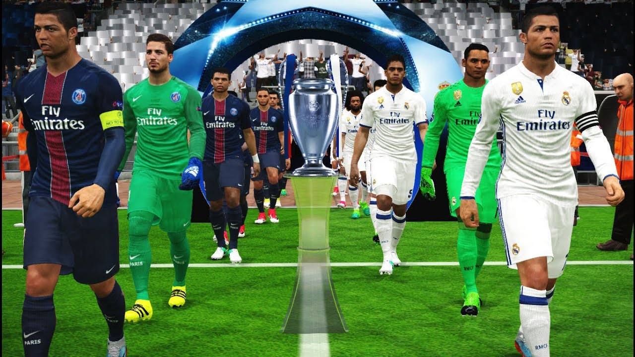 Real Madrid Vs Psg Youtube Live