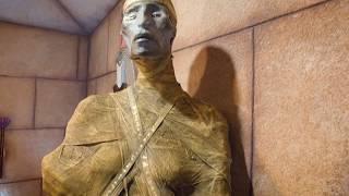 как сделать мумию из манекена? Смотри