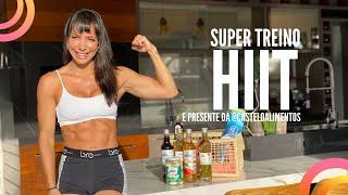 🔴Treinão Hiit pra acelerar metabolismo @casteloalimentos - Carol Borba