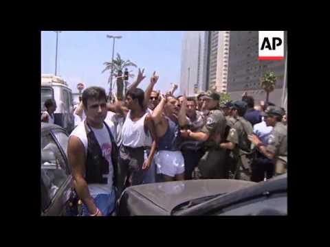 WORLDWIDE: ISRAEL - PLO PEACE ACCORD UPDATE