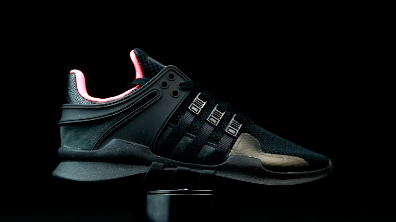 Primero Real Gángster  Adidas Equipment Support en color negro. - YouTube