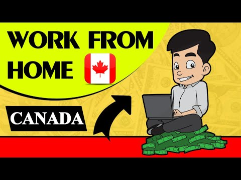 💲 Work From Home Canada Jobs - 💰 Best Jobs To Work From Home Canada