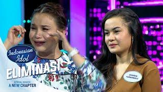 Teh Oca Sampai Menangis Dengar Merdunya Suara Sharen Fernandez - Eliminasi 3 - Indonesian Idol 2021