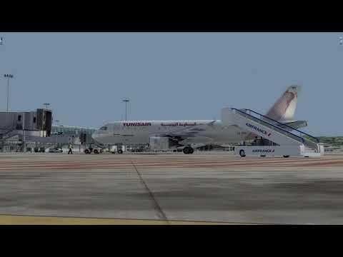 Flight from Marseille to Monastir (TUNISAIR)
