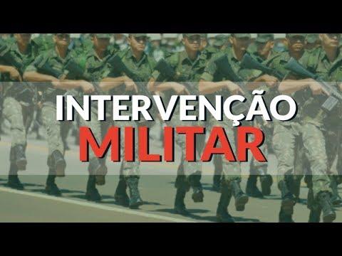MANIFESTAÇÃO INTERVENCIONISTA PEDINDO A INTERVENÇÃO CÍVICA MILITAR E FAXINA GERAL NOS 3 PODERES
