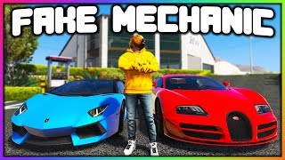 GTA 5 Roleplay - I MADE A FAKE MECHANIC SHOP | RedlineRP