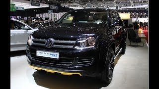 THE VOLKSWAGEN AMAROK BLACK 2018 REVIEW CAR