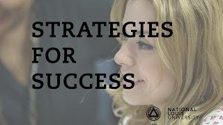 Repeat youtube video National Louis University | Strategies for Success
