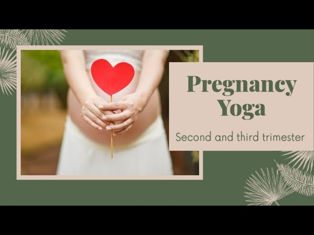 Pregnancy Yoga Daily Practice For Second And Third Trimester | Pregnancy Yoga | Dr. Akhila Vinod