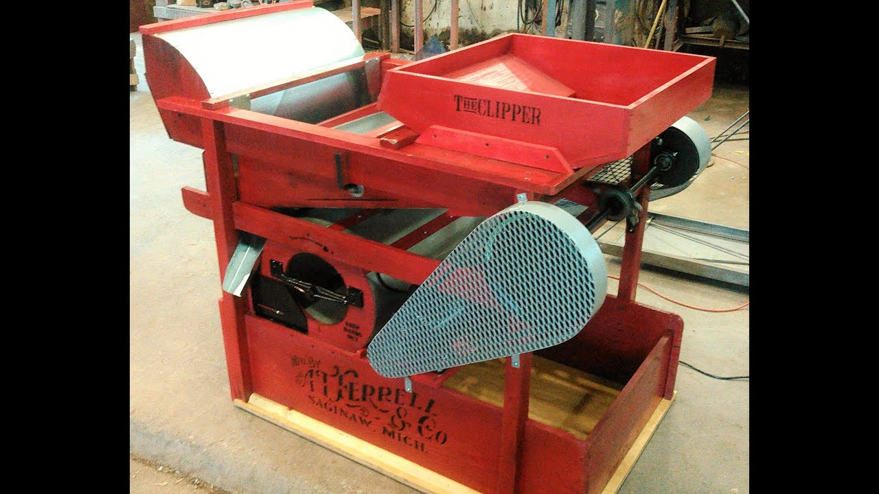 Modified Clipper 2b Seed Cleaner