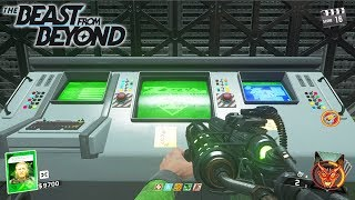 THE BEAST FROM BEYOND MAIN EASTER EGG HUNT INFINITE WARFARE ZOMBIES GAMEPLAY