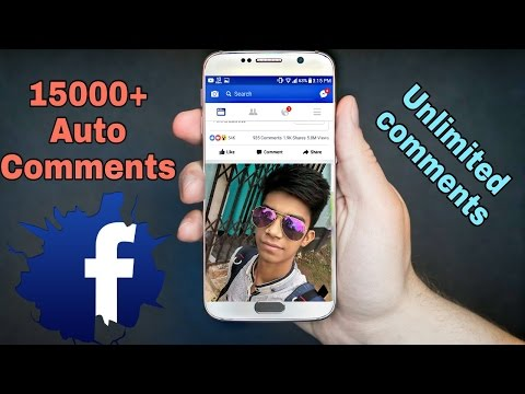 How To Gets Unlimited Auto Comments In Your Facebook Status (Bangla)