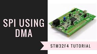 [Học lập trình ARM STM32F4 Discovery] Bài 11: Truyền nhận SPI dùng DMA