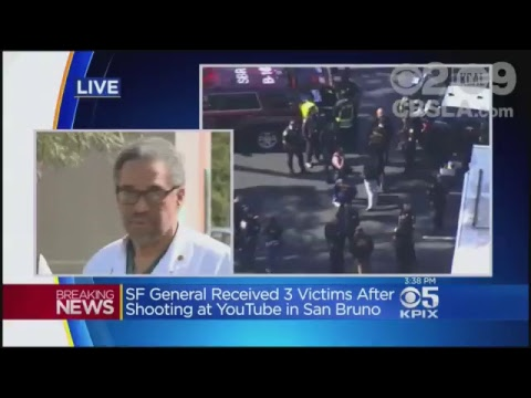LIVE: Active shooter reported at YouTube HQ