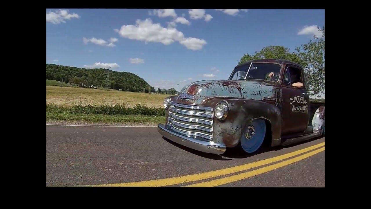 1952 Chevy 3100 Rat rod Freak Show - YouTube