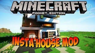 0.14.0 Minecraft PE Mods | INSTA HOUSE Mods Para Minecraft PE 0.14.0