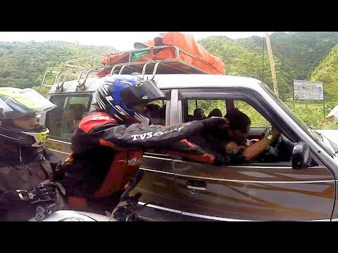 BIKER SLAPS STUPID DRIVER | EXTREMELY CRAZY & ANGRY PEOPLE vs  BIKERS |  [Ep. #97]