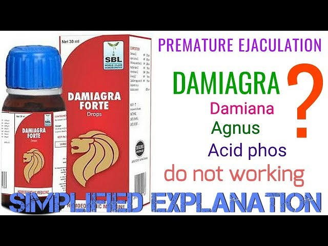 Premature Ejaculation ! Homeopathic medicine for Premature Ejaculation ! Damiagra ! Acid phos !agnus