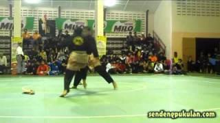 2nd Junior International Pencak Silat Championship 2011 - Ganda Putri